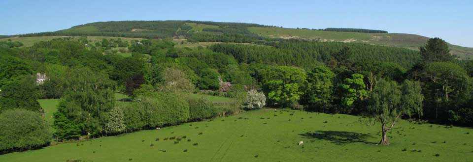 Beautiful countryside surrounding our holiday cottages