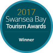Winner of Swansea Bay Tourism Award 2017