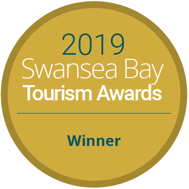 Winner of Swansea Bay Tourism Award 2019